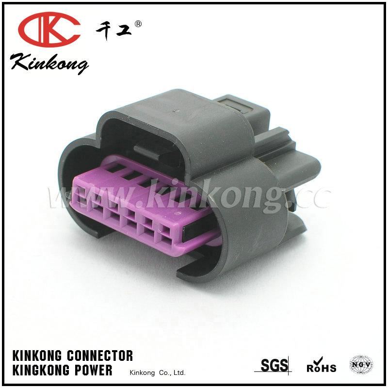 6 pin female auto connector crimp connectors CKK7061D-1.5-21