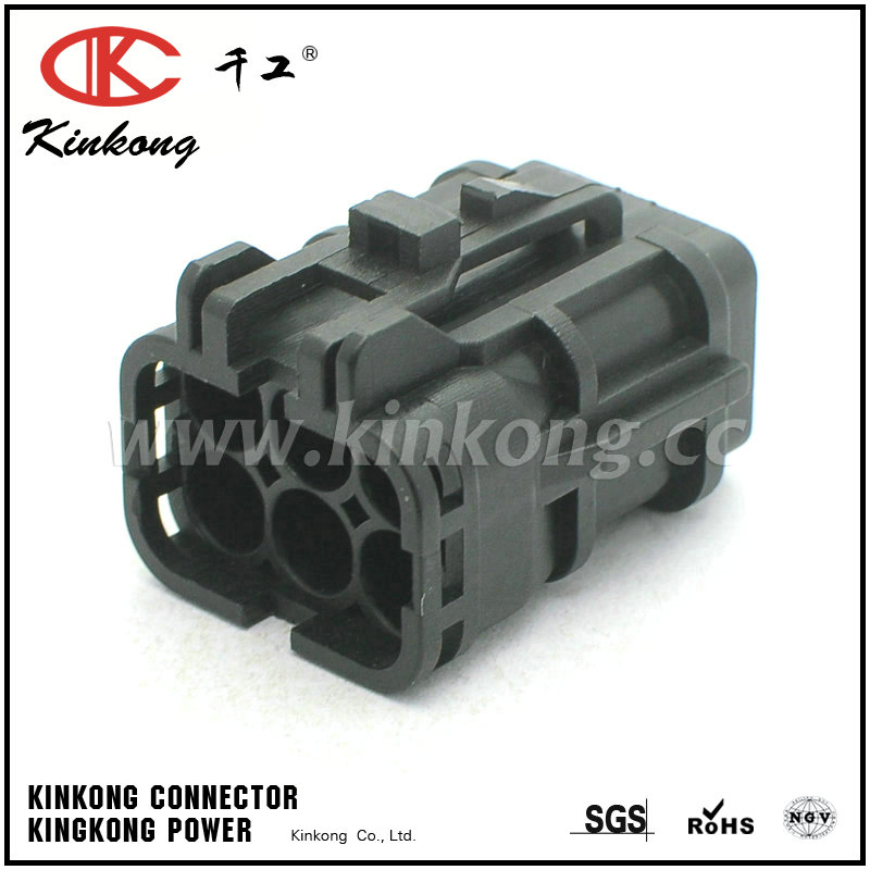 6 pin female waterproof automotive electrical connectors 7123 7464 40