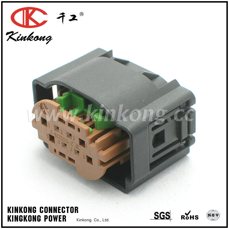 Prime Tyco Amp Replacement 8 Way Female Waterproof Wire Harness Connector Wiring Cloud Hisonuggs Outletorg