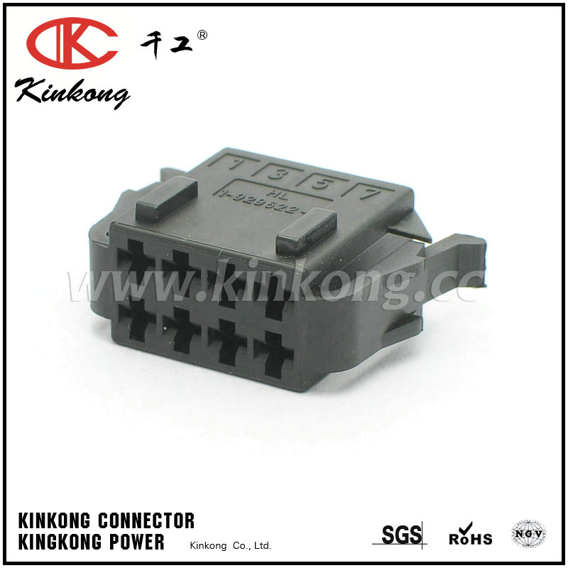 8 hole female electrical wire connectors 1-929622-1