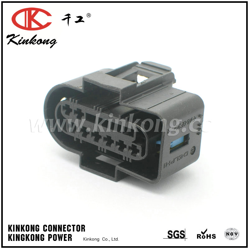 Way female automotive wire electrical connectors