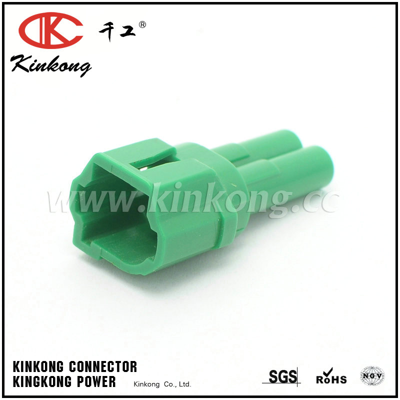 2 pin male automotive oem wire connectors