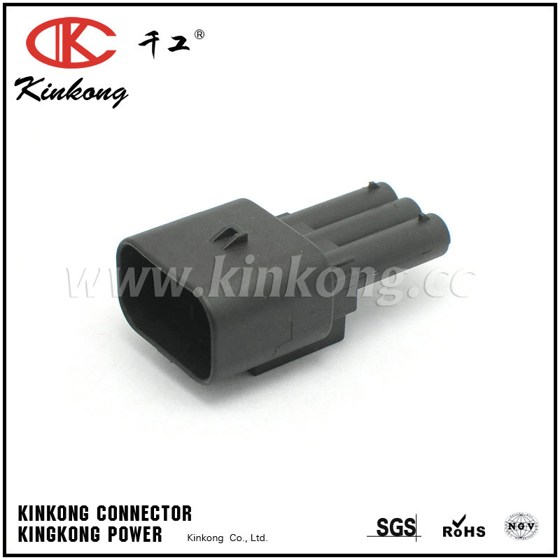 936292-2 3 way female automotive connectors CKK7033Y-2.3-11