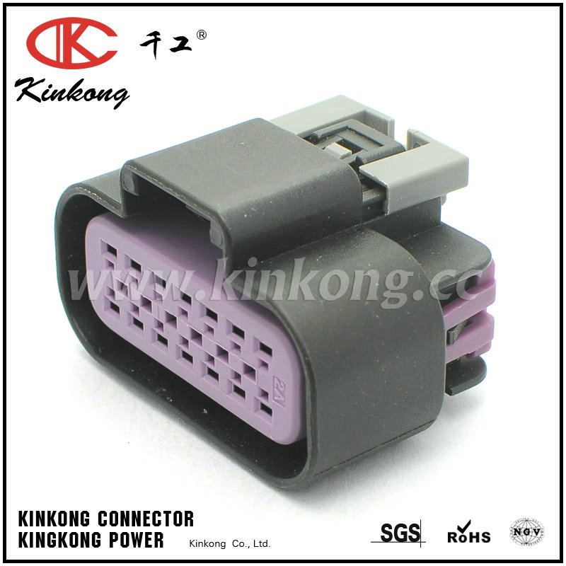 14 way female wire harness connector 15326856