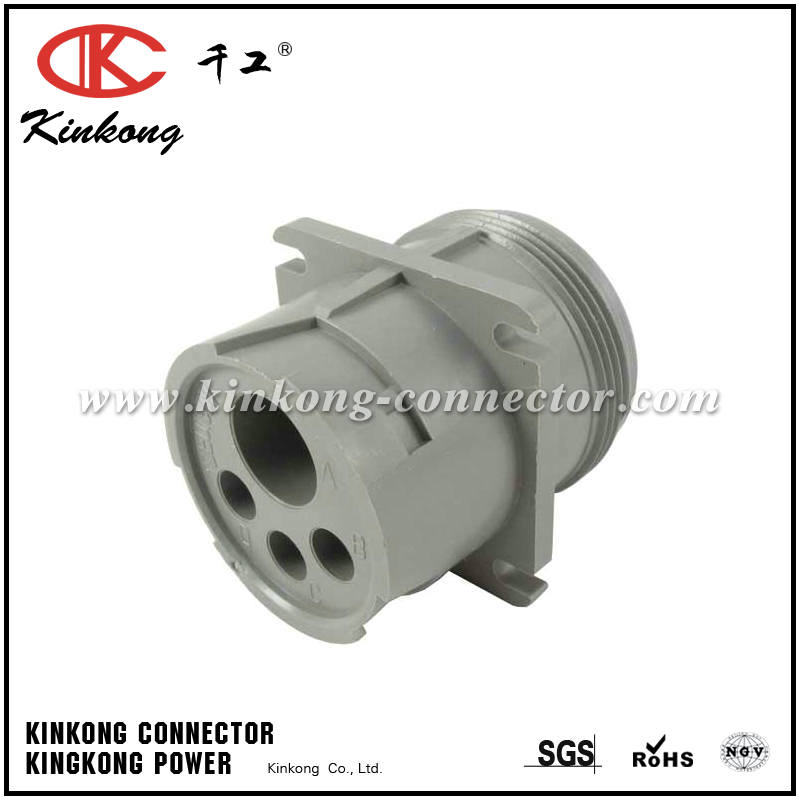 HD10-4-4P 4 pin male Flange Mount electrical connector