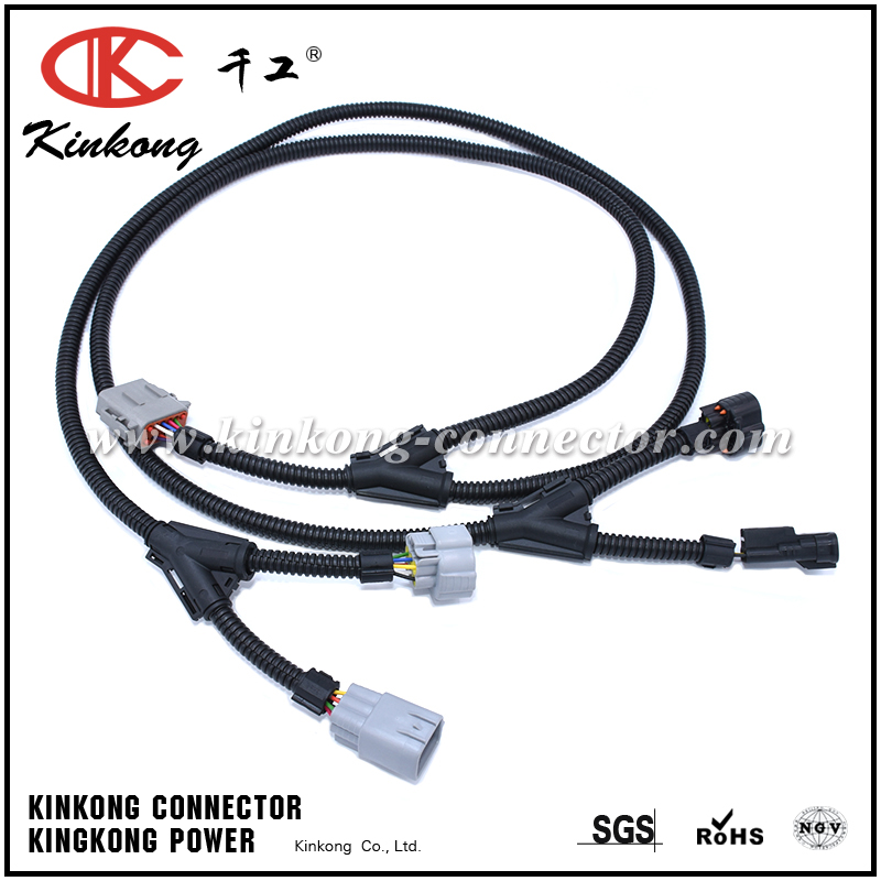 [SCHEMATICS_4JK]  Automotive wiring harness with 6 pin Deutsch connector and denso connector  WD003 | Denso Wiring Harness |  | Wenzhou Kinkong Auto Parts Co., Ltd.