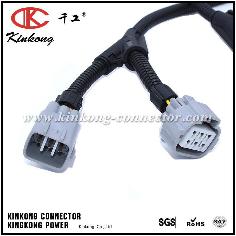 [NRIO_4796]   Automotive wiring harness with 6 pin Deutsch connector and denso connector  WD003 - Wenzhou Kinkong Auto Parts Co., Ltd. | Denso Wiring Harness |  | Wenzhou Kinkong Auto Parts Co., Ltd.