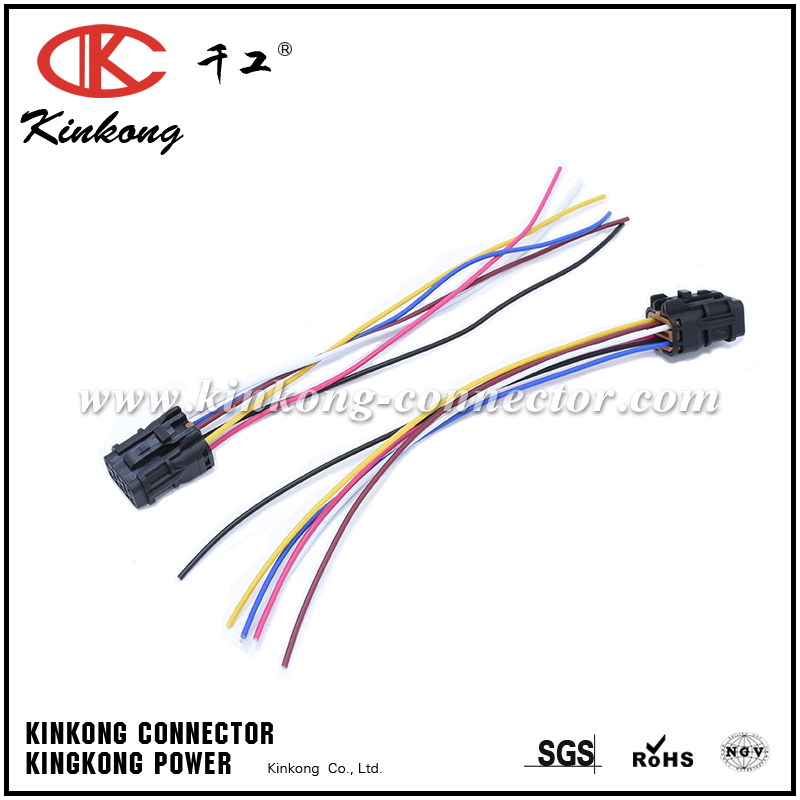 wire harness 6 pin connector pigtail for kia soul wa097 wenzhou rh kinkong connector com Wiring Harness Connectors Wiring Harness Connector Plugs