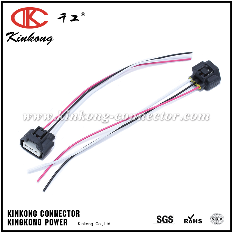 201704171022348704 automotive wire harness with 3 pin connector for toyota wa095