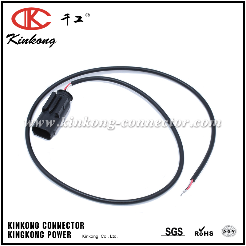 Wrapped by PVC used 3 pin plug wire harness for BMW WA092