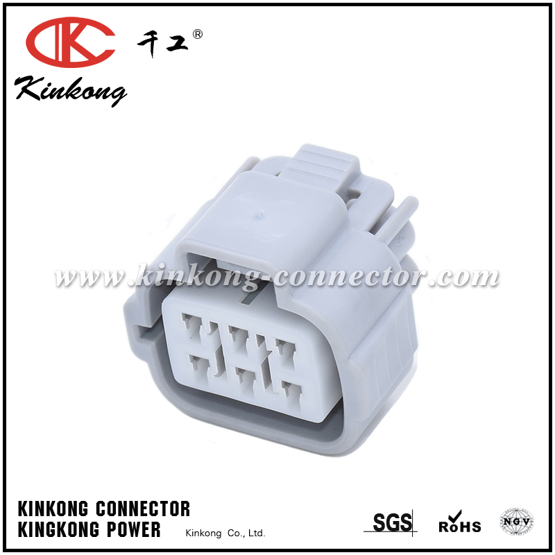 6 way female gray Accelerator pedal automotive connector for