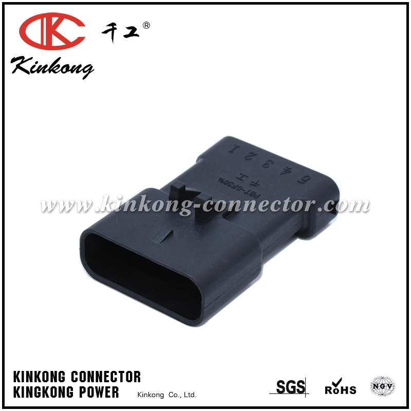 5 pins blade electrical wire connectors CKK7057-2.8-11
