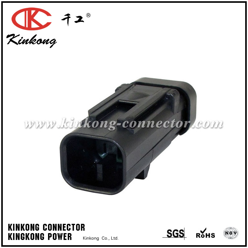 776428-4 2 pin male waterproof auto electric automitive connector sealed auto plug