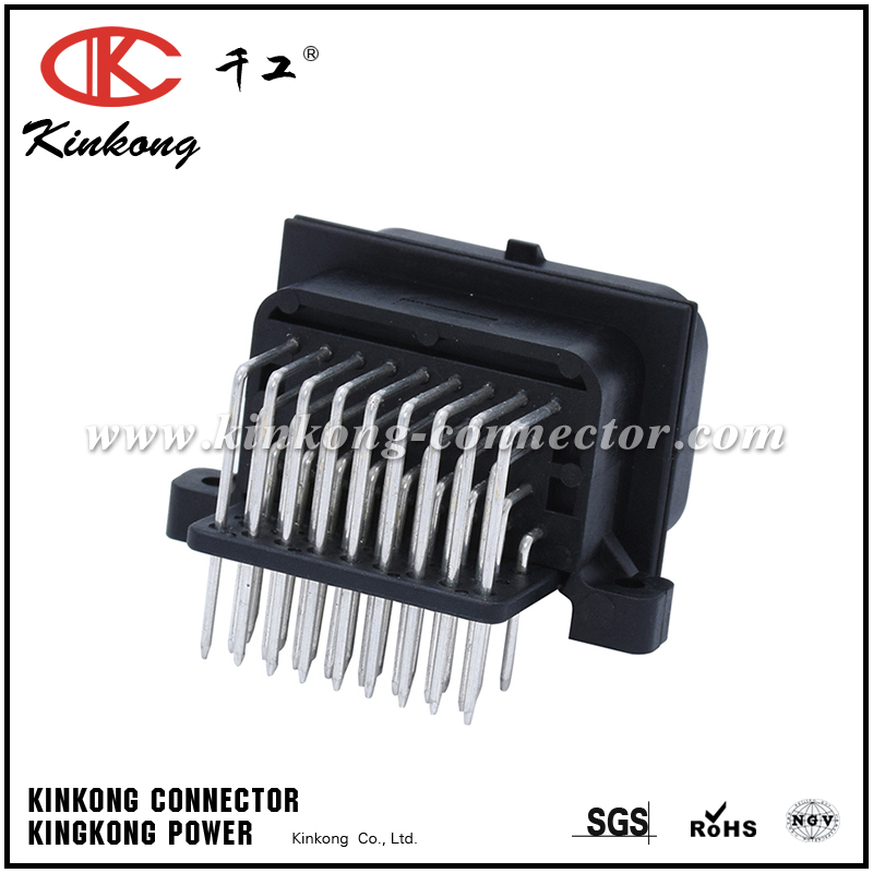 34 pin pcb waterproof wire connectors with tin plating or