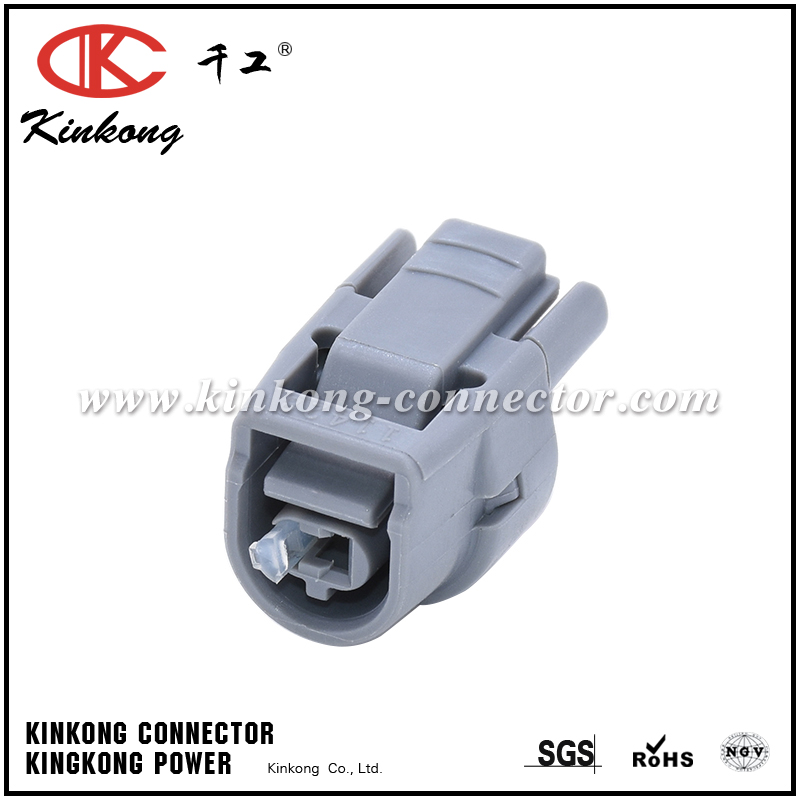 6189-0445 90980-11428 1 Pin Female Sealed 2JZ H2O Temp Auto Plug Connector For Toyota CKK7011-2.2-21