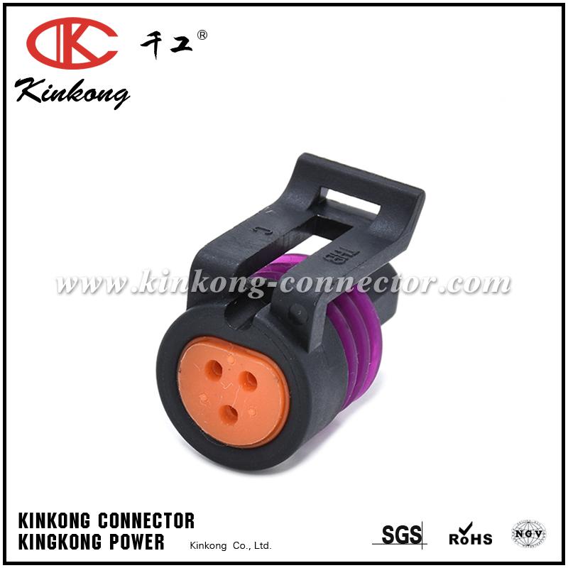 3 Pin GM TPS Throttle Position Female Sensor Connector 12078090