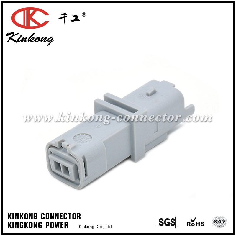 2pin male waterproof wire connectors 211PL022S8049
