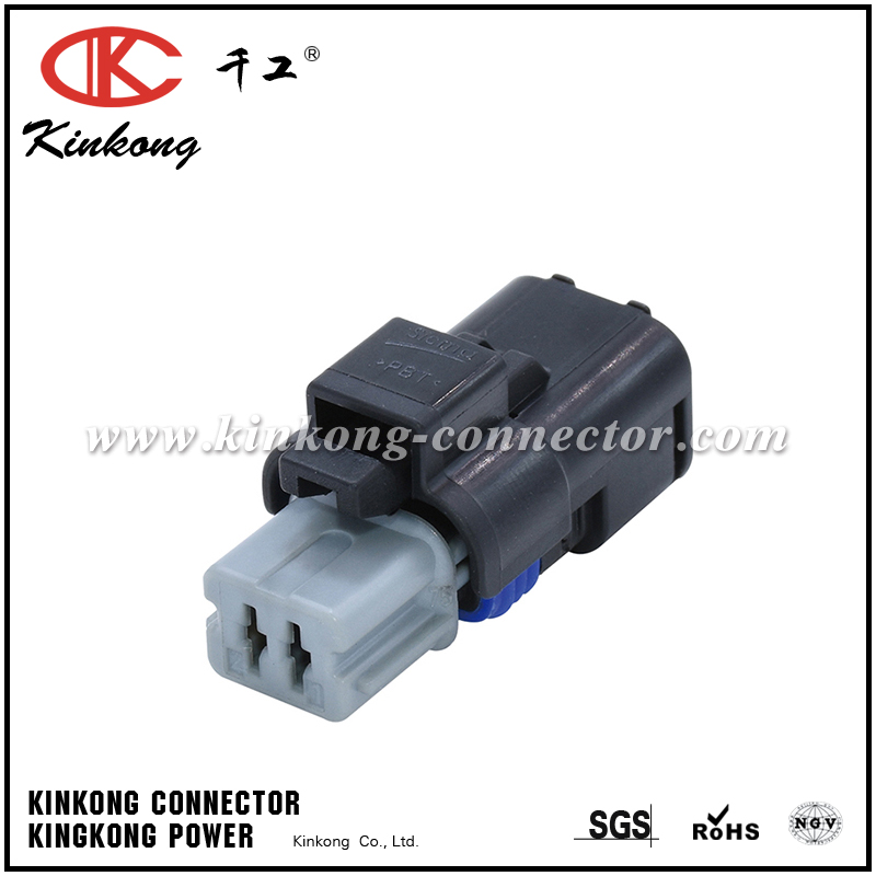 FCI 2 pin female waterproof wire connector for Sicma