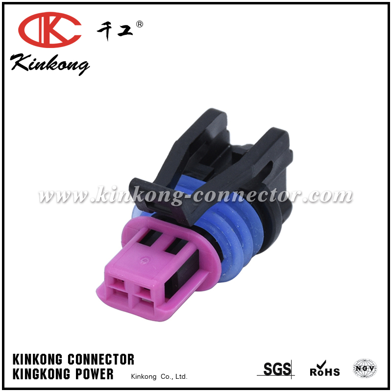 GM LS ECT 2 Pin Female Auto Connector 15449028