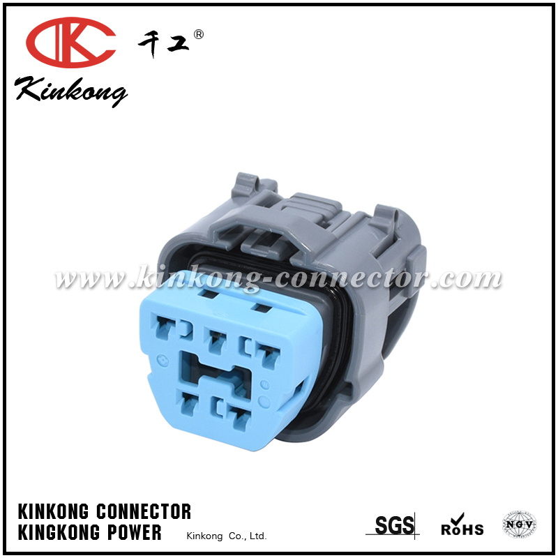 Pleasant 5 Hole Female Waterproof Automotive Electrical Connectors 6189 0618 Wiring 101 Capemaxxcnl