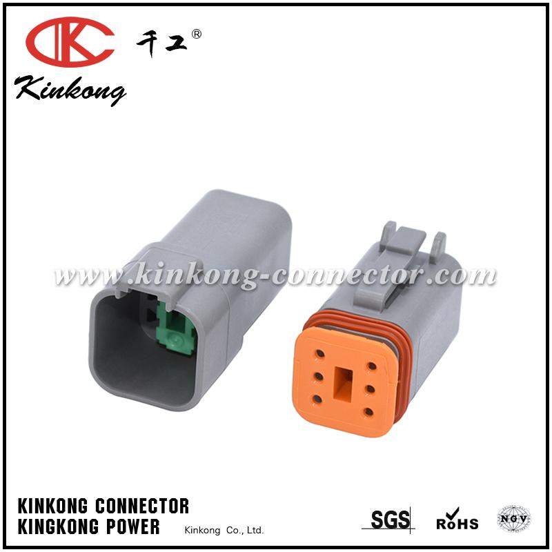 DT06-6S 6 way female auto plug car plug wire connectors CKK3061-1.5-21