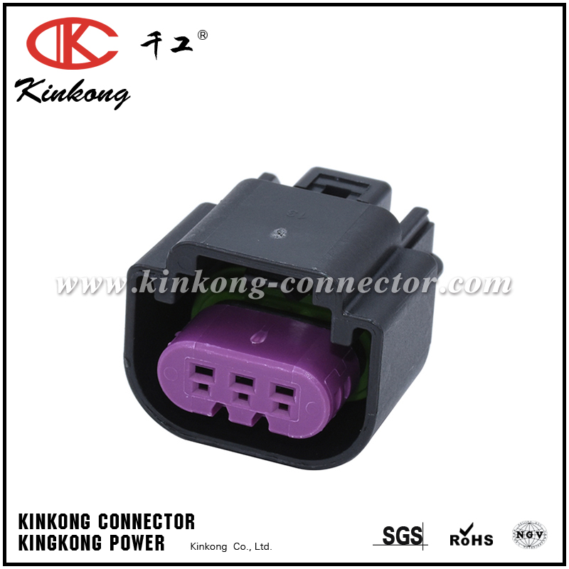 13511131 3 Way Black GT 150 Sealed Female Connector Assembly, Max Current 15 amps CKK7031E-1.5-21