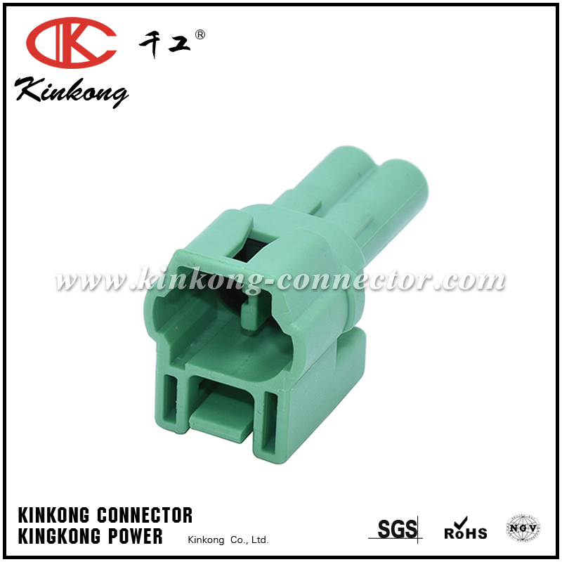 2 pin male automotive wire connectors 6187-2583