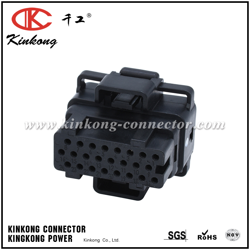 4-1437287-6 24 pole ECU automobile plug  CKK724A-1.5-21