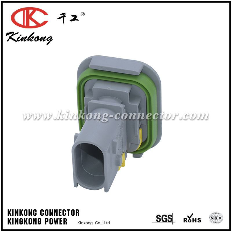 2-1703843-1 3 pin male sealed automobile plug CKK7039GA-1.5-11