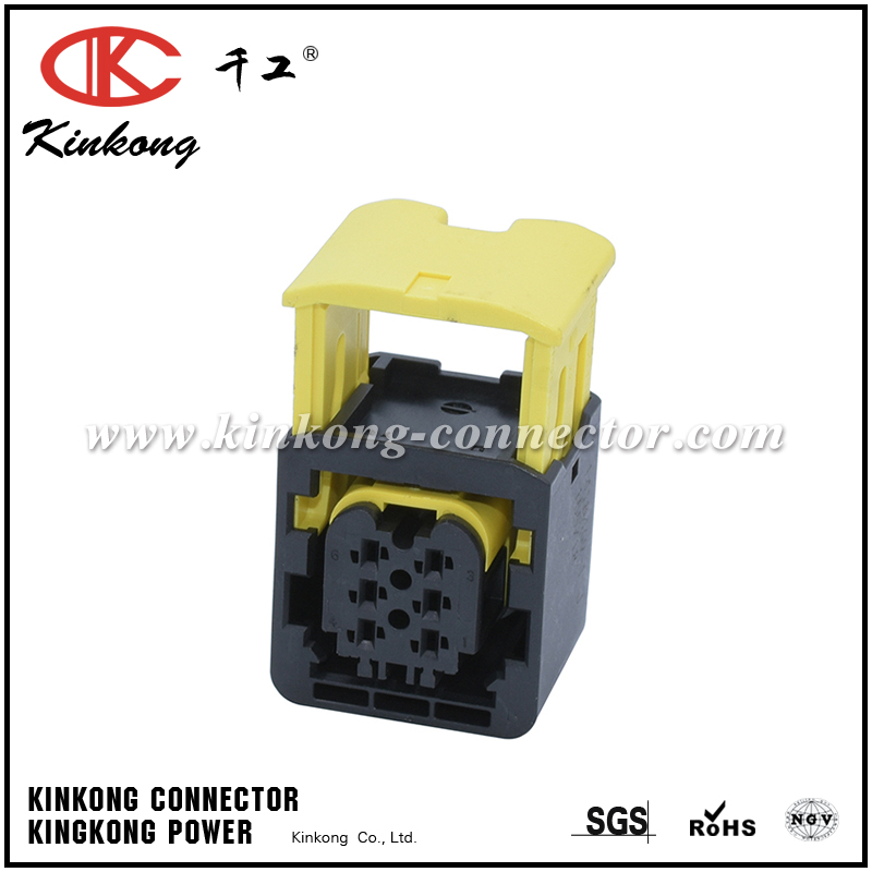 1-1418469-1 6 way female waterpproof cable connector CKK7069B-1.5-21