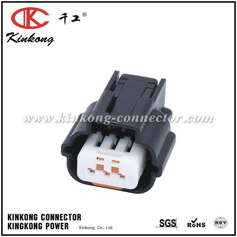 Mitsubishi 3 Pole Female Automotive Electrical Plug Pk605 03027