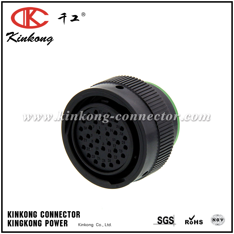 HDP26-24-33SN 33 pole receptacle waterproof connector
