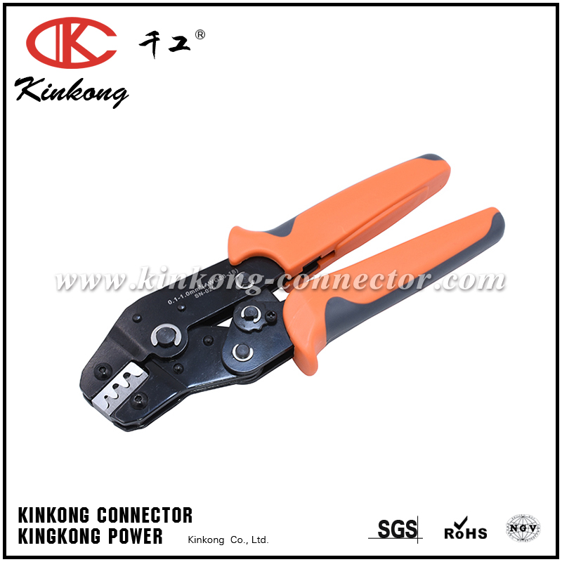 crimping tools for 28-18AWG 0.1-1.0mm² CKK-025