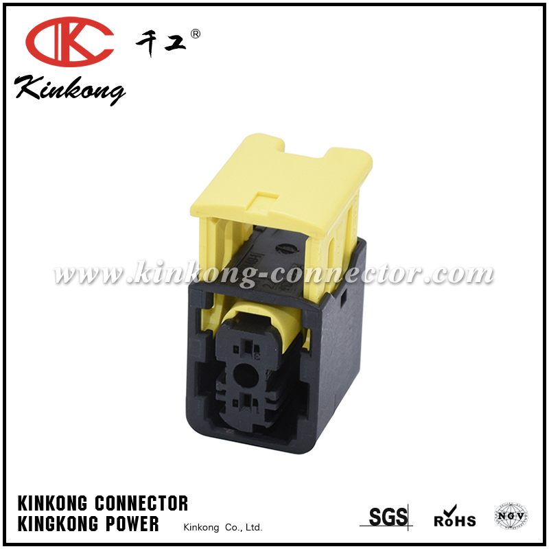 1-1418448-2 2 hole female cable connector CKK7029B-1.5-21