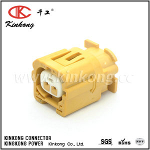 2Pin Female Yellow automotive electrical connectors CKK7023Q-1.0-21