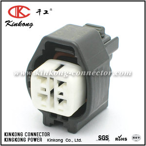 6189-0187 4 hole female waterproof connectors CKK7046K-2.2-21