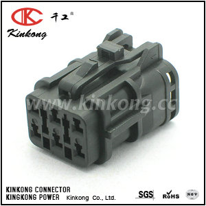 7123-7464-30 6 pin female waterproof type automotive electrical connectors CKK7061B-1.8-21