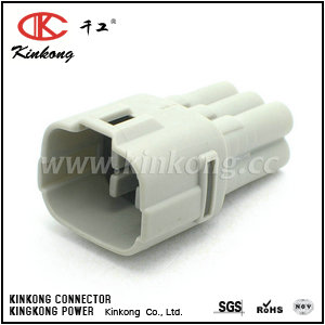 6188-0382 6 pin male waterproof automotive connectors CKK7061Y-2.0-11