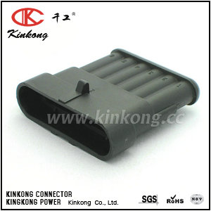 7282-5532-40 6 pin blade electrical connectors CKK7061-1.5-11