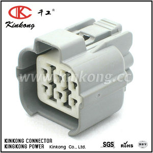 6189-0133 6918-0330 6 way female electrical connectors  CKK7063-2.0-21