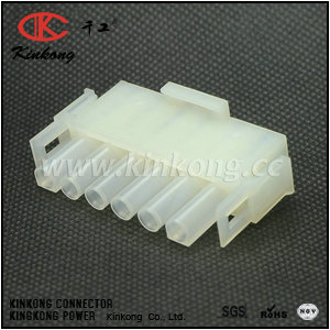 6 pin female waterproof mold automotive electrical connectors  CKK3061A-2.1-21