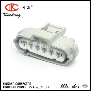 90980-12651 6 pole female electrical connectors  CKK7061G-2.2-21
