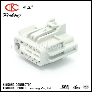 9 pole female waterproof cable connectors  CKK7093-1.2-6.3-21