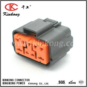 6195-0238  9 way waterproof watertight electrical connectors   CKK7096-2.2-4.8-21
