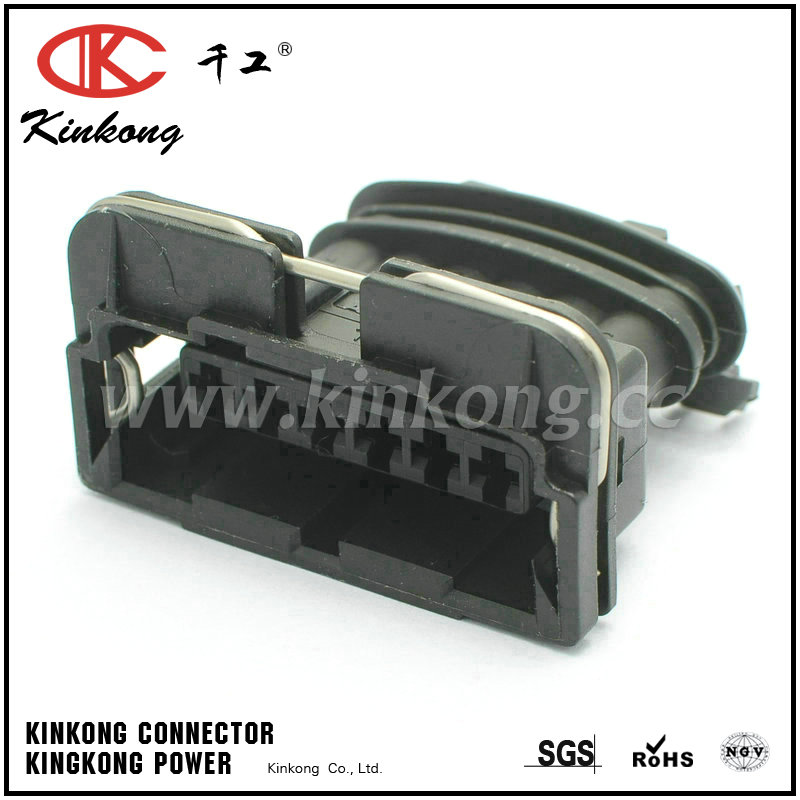 282767-2 6 hole black female wire connectors CKK7063A-3.5-21