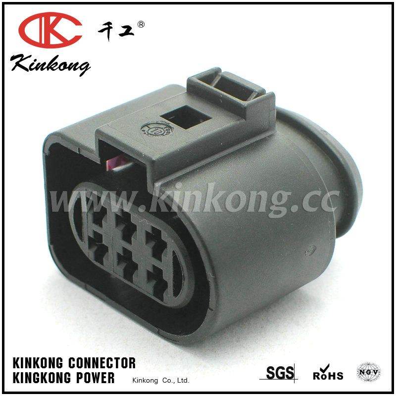 1J0 973 733 6 pin female waterproof type automotive electrical connectors CKK7065-3.5-21