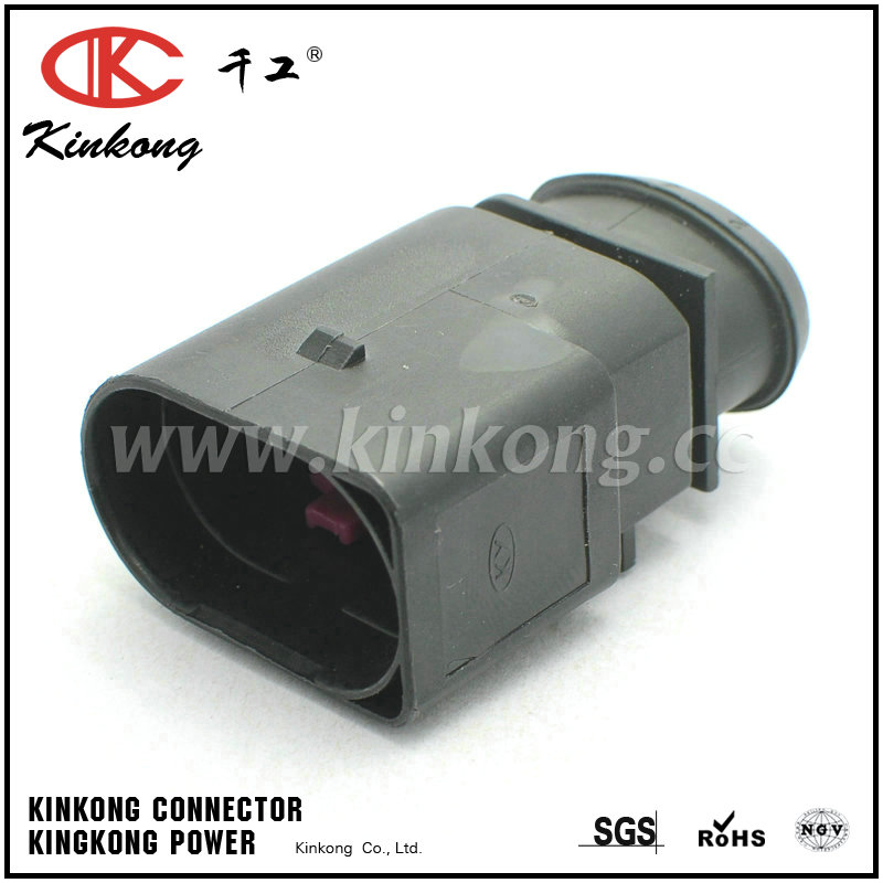 1J0 973 833 6 pole male waterproof type cable connectors CKK7065-3.5-11