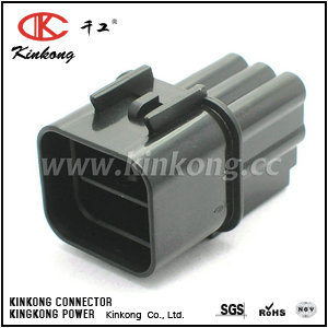 6 pin male waterproof automotive electrical connectors  CKK7065-2.3-11