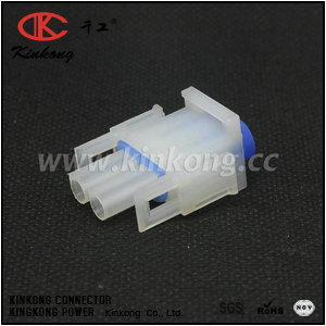 2 pole female waterproof auto connector CKK3021-2.1-21