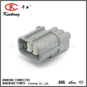 6181-0071 3 way male waterproof automotive electrical connectors   CKK7033A-2-11